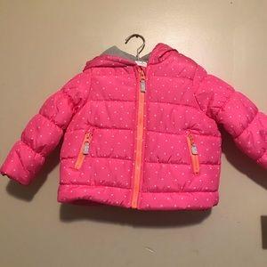 Carter's baby girls coat NEW